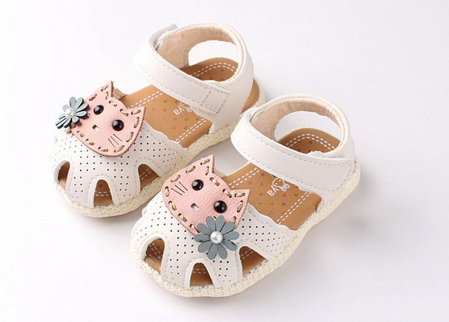 Children Sandals Sneakers Flat-Shoes Non-Slip Baby-Girls Summer Cat Cute DHL 1-3-Years-Old