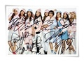 TWICE autographed signed original group photo picture 4*6 inches collection freeshipping 10.2016 09