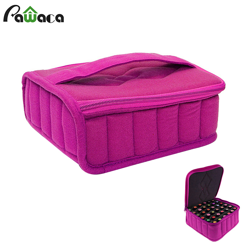 30 Bottle Essential Oil Carrying Holder Case Perfume Oil Portable Travel Storage Box Nail Polish Organizer