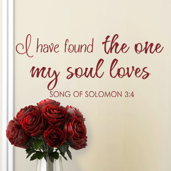 song of solomon i found the one