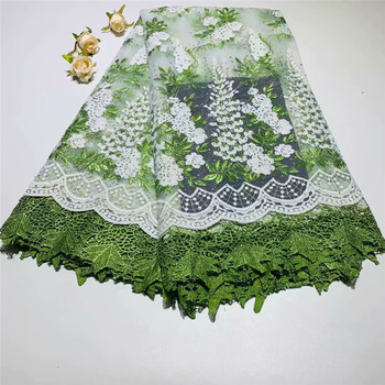 African Lace Fabric 2018 High Quality French Lace Fabric Tulle With stones Nigerian Lace Fabric For Wedding dress df11-65