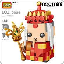 LOZ Mini Blocks Tripitaker Monk Figurines The Journey To The West Master Action Figure Kids Assembly