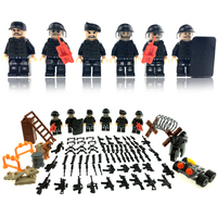 2017 New HOT Modern Assault Military Armed SWAT Action Building Blocks Children Toys Gift Compatible LegoINGlys
