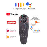G30 Air Mouse Voice Air Remote Mouse 33 Buttons For IR Learning 2.4GHz Mini Fly Mouse with Voice Input For Android Shield TV Box