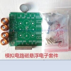 Image 1 - Комплект магнитной левитации «сделай сам», герметичный комплект магнитной левитации (детали), интеллектуальная аналоговая схема, 2019