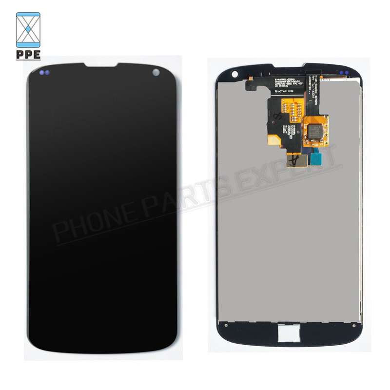 ФОТО 10pcs/lot For LG Google Nexus E960 LCD Display Touch screen Digitizer Glass Panel Assembly Black Replacement Free DHL EMS