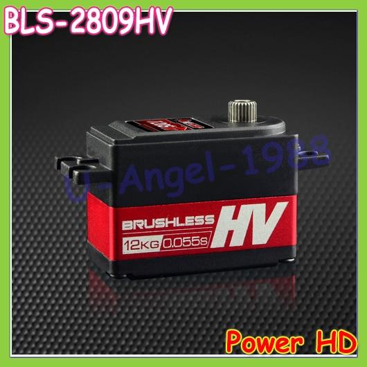 1pcs 100% orginal Power HD Servos BLS-2809HV High Voltage Digital Brushless Motor Titanium Steel for RC Drifting Short Car