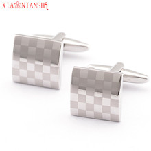 XIAONIANSHI Originality Personalized Cufflinks Links for Mens Gifts Customized Cuff Buttons Wedding Favors Jewelry Accessories