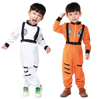 New Arrival Kids Space Astronauts COS Costume Halloween Cosplay Children Disfraces Masquerade Hot Sale Kids Clothes