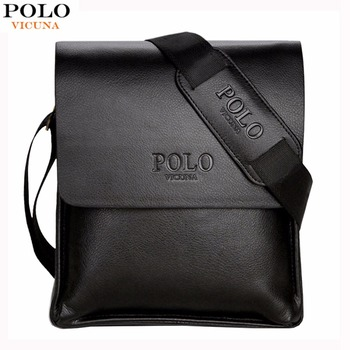 Men Leather Sling Bag Casual Business Leather Mens Messenger Bag Vintage Men's Crossbody Bag