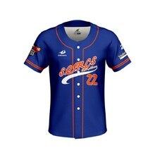 цена на Custom white Baseball Jerseys Yankee For Men Women Camiseta Beisbolera Camisa Beisebol Breathalbe Jersey Baseball Shirt Tops