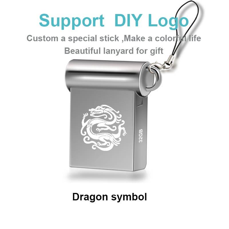 Ingelon Mini USB Thumb Drive 32gb Metal USB flash drive 32 GB - შემნახველი წყაროები - ფოტო 5