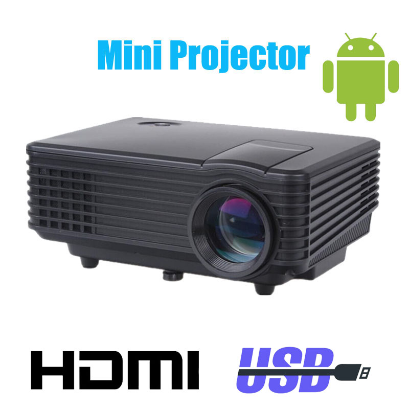Wifi 3d led mini projector accessories full hd tv home for Top rated pocket projectors