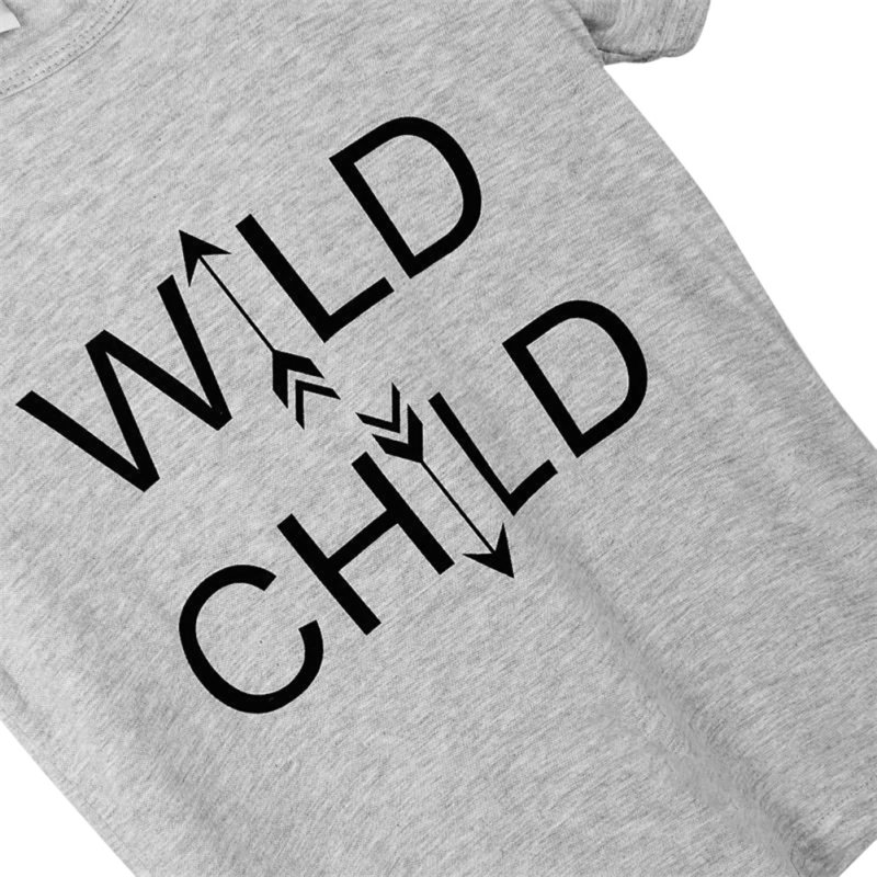 Low-Price-Cute-WILD-CHILD-Letter-Kid-Boy-Girl-Short-Sleeves-Tops-T-Shirt-Casual-Summer-Baby-Clothes-2