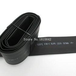 1 متر 22 ملليمتر الحرارة يتقلص Heatshrink أنبوب قابل للتمدد بالحرارة أنبوب التغطيه التفاف سلك أسود اللون