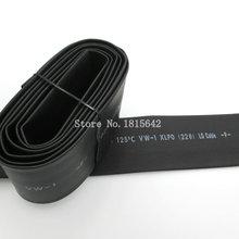 1 Meter 22mm Heat Shrink Heatshrink Heat Shrinkable Tubing Tube Sleeving Wrap Wire Black Color