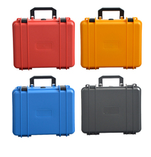 Small size plastic tool case suitable carrying tool box hard plastic carrying tool case