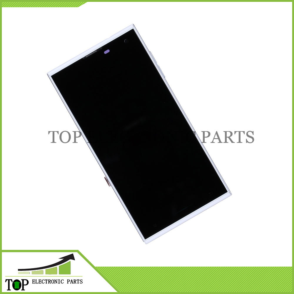 Black Color Original 5.0inch HD IPS V 7 Smartphone LCD Display Screen + Touch Panel Glass With Frame Repair Replacement