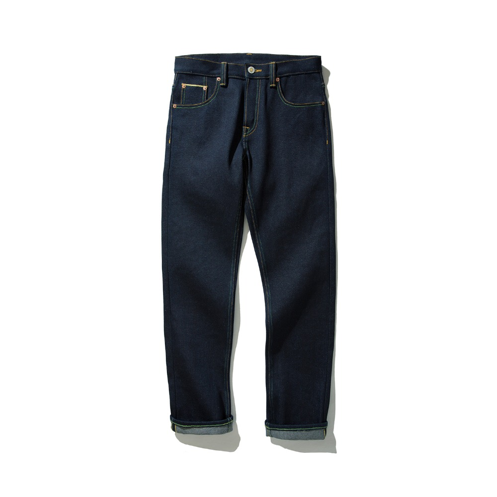 22oz Read Description! Super Heavy Weight Raw Indigo Selvage Unwashed Denim Pants Unsanforised Thick Raw Denim Jean 22 Oz