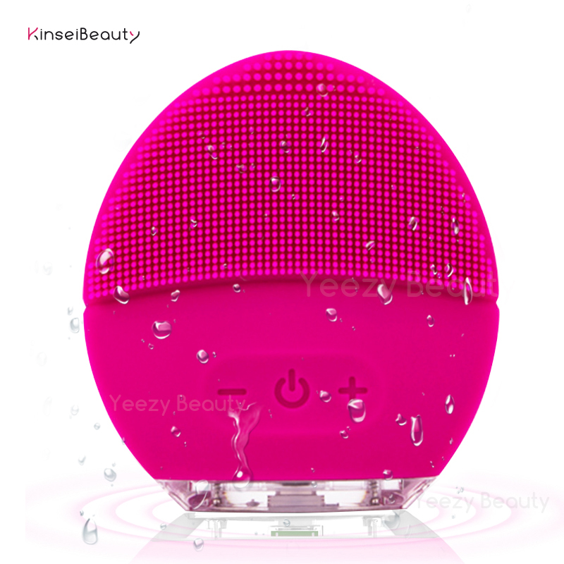 Facial Cleansing Brush Face Scrubbers Waterproof Electric Face Cleanser and Massager Brush for All Skin Types, USB RechargeableFacial Cleansing Brush Face Scrubbers Waterproof Electric Face Cleanser and Massager Brush for All Skin Types, USB Rechargeable