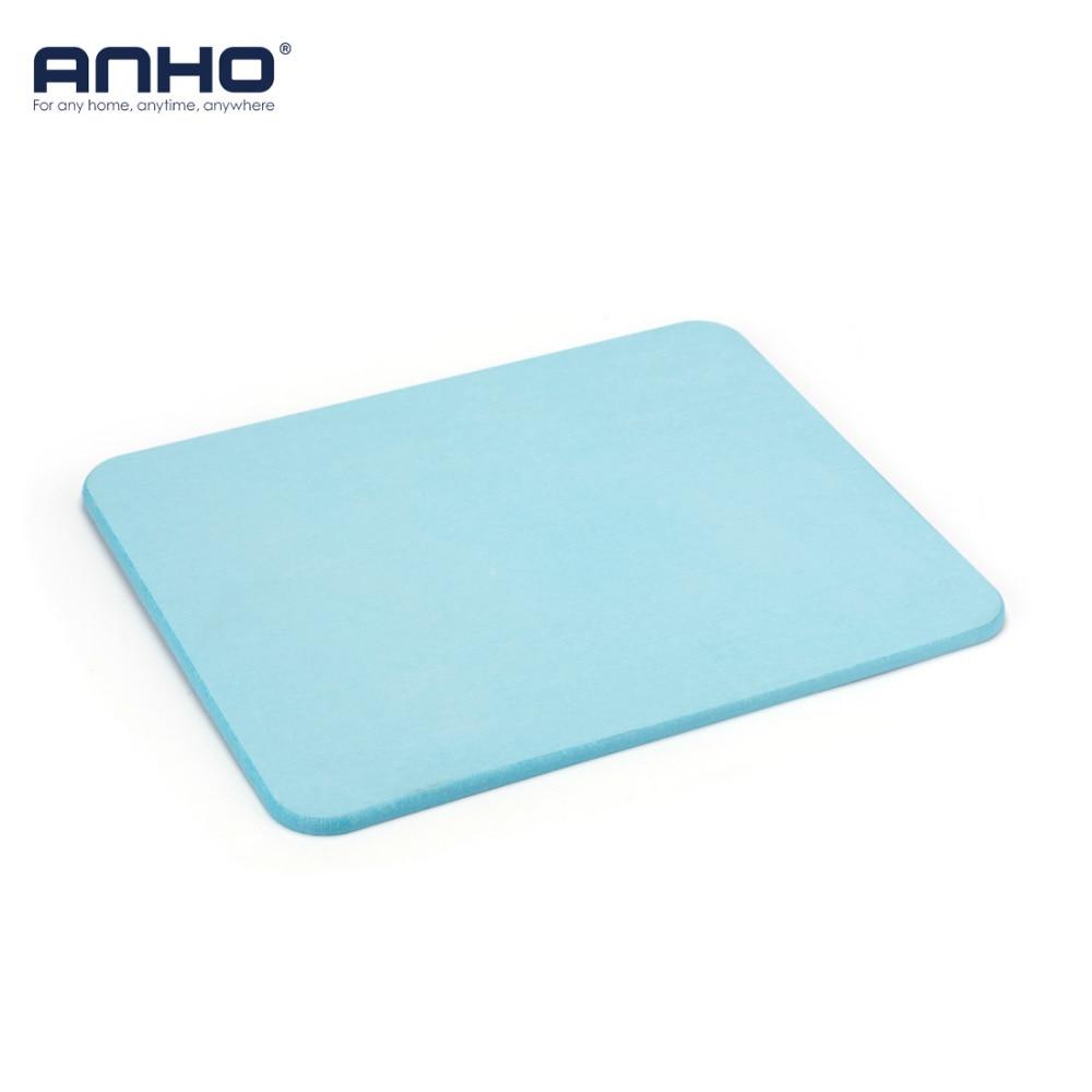 Diatomite Bath Mat Quick Drying Natural Absorbent Pad Eco