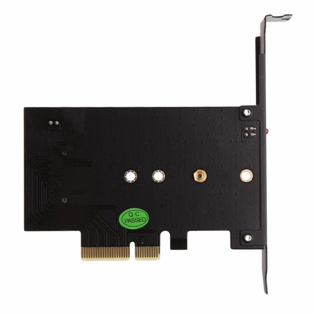 все цены на M Key PCI-E X4 To M.2 NGFF SSD Converter Adapter Card For 2230 2242 2260 2280 онлайн