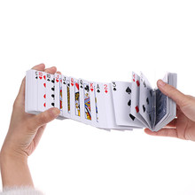 1 set Magic elektrische dek van kaarten goochelaar prank trick close up stage poker prop rood(China)