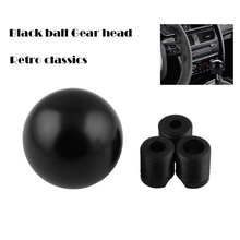 Automatic manual shift lever head black spherical gear knob automobile refitting parts