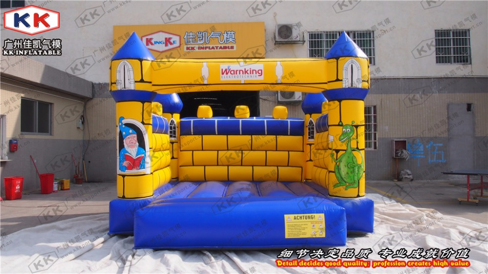 inflatable yellow checks font b bouncer b font for rental mini size inflatable font b bouncer