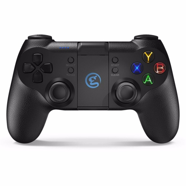 T1s Physically Designed Bluetooth4.0 Wireless Connection Gamepad Game Controller Large Capacity Vivid Power Indicator Joystick