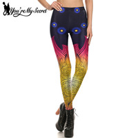 You Re My Secret Summer Flower Workout Leggings Women 3D Digital Printing Leggins Soft Elastic