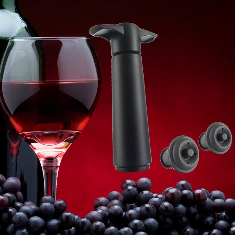 Wine Saver and Vacuum Bottle Stopper with 2 Rubber Stopper to Preserve Wine for Later Use