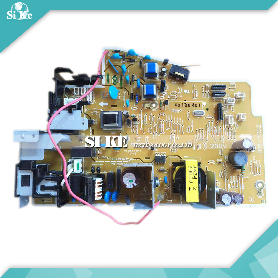 LaserJet  Engine Control Power Board For HP M1212 M1213 M1212NF M1213NF 1213 1212 1213NF RM1-7902 Voltage Power Supply Board ce832 60001 mainboard main board for hp laserjet m1213 m1212 m1213nf m1212nf 1213 1212 printer formatter board