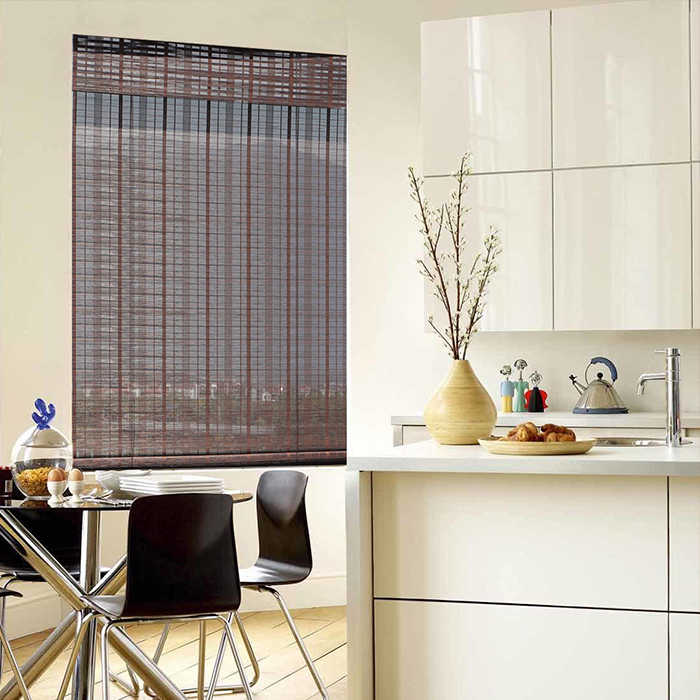 Popular bamboo blinds/bamboo roller blinds/ready made curtain/curtain fabric curtain window bamboo curtain Haoyan