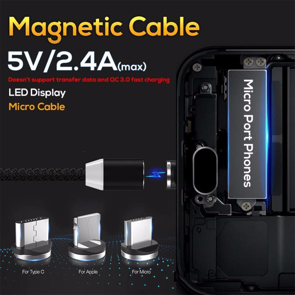 Band-Maid Three-in-One Portable Charger Fast Charging Data Sync Transfer Cord USB Charger