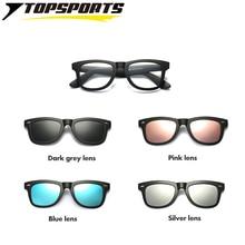 6e889cf4b0 TOPSPORTS 4 lenses Polarized Clip On Sunglasses Men women optical myopia  TR90 frame TAC lens Glasses