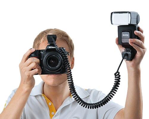 2016 Newest Godox TL S 3M Off Camera Flash Speedlite TTL Shoe Cord For SNY Camera