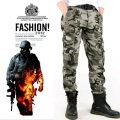 Fashion Pocket Men's Camouflage Pants Casual Thickening Trouser Combat Military Style Jogger Tactical Male Camo Army Cargo Pant