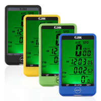 29 Functions Water-resistant Sunding Wireless Cycling Bike Bicycle Computer Speedometer Odometer Stopwatch drop shipping