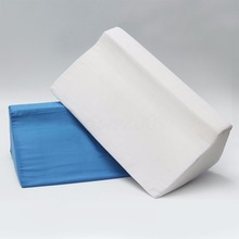 High Quality Foam Bed Wedge Pillow For Patient Care Leg Elevation Back Lumbar Support Cushion Comfortable Cushion Mayitr New