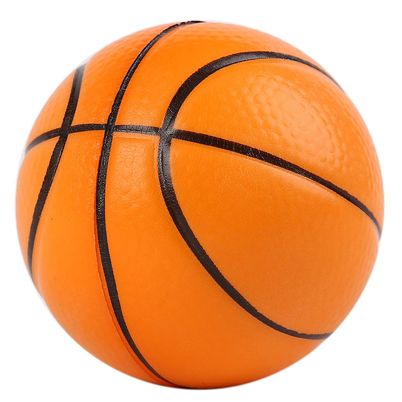 Jumbo Basketball Squishy Simulation PU Bread Cake Slow Rising Sweet Scented Soft Squeeze Toy Stress Relief Funny Kid Xmas Gift