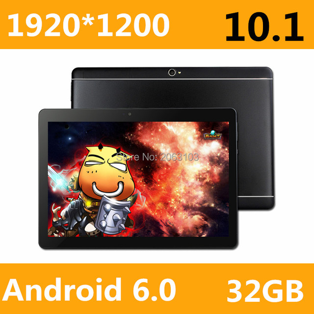 Free shipping 2017 Newest 10 inch 3G 4G Lte Tablet PC Ocat Core 4GB RAM 32GB ROM Dual SIM Card Android 6.0 IPS tablet PC 10
