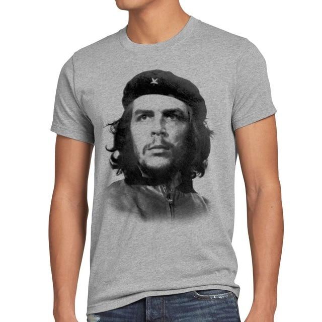 2019 nouveauté mode homme CHE Herren T-Shirt Kuba Guevara Viva La révolution Cuba Castro guérilla Narcos t-shirts drôles
