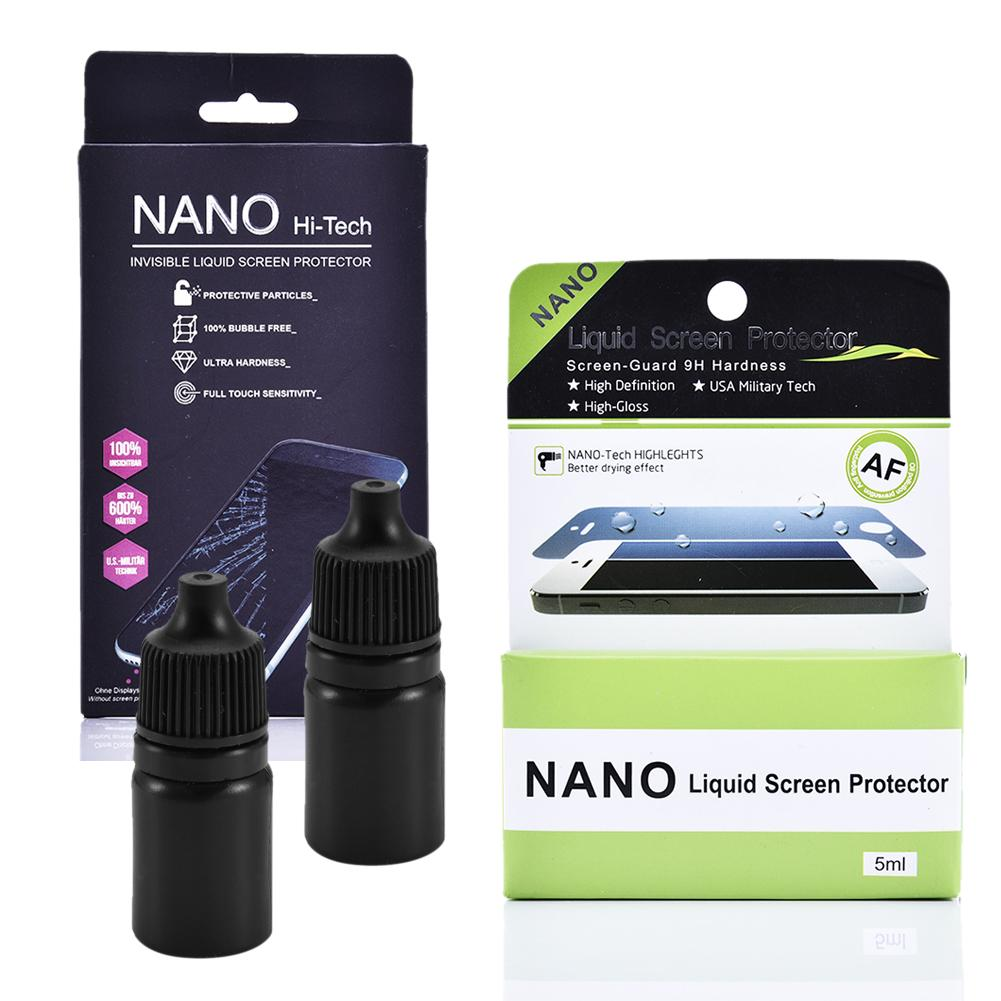 Image 1 - 3ml Nano Liquid Protective Film Liquid Film Scratch Resistant High Definition Nano Liquid Protective Film For IPhone X-in Phone Screen Protectors from Cellphones & Telecommunications