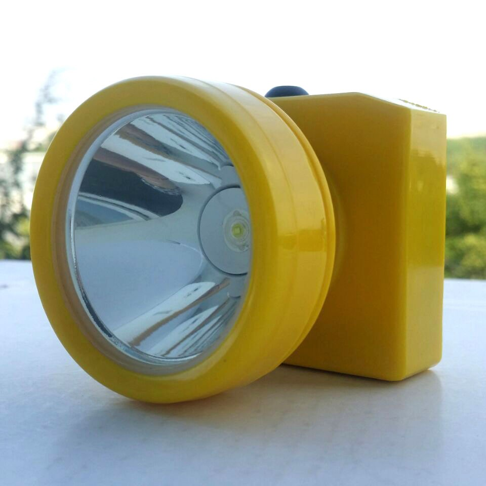 YJM-4628Y 12pcs/lot Plastic Headlamp Dampproof Waterproof Mining light Explosion Proof Head Light Rechargeable Led cap lamp