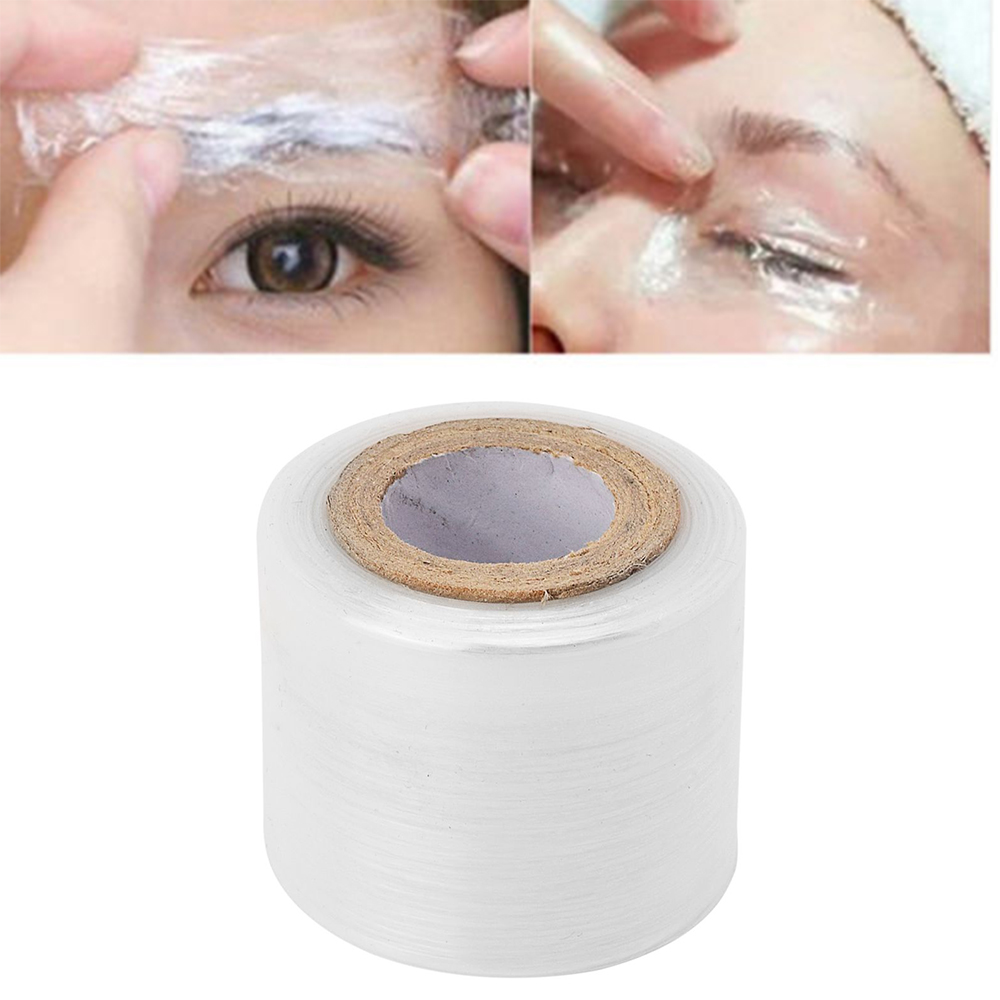 1 Roll Microblading Tattoo Clear Plastic Wrap Preservative Film For Permanent Makeup Tattoo Eyebrow Tattoo Accessories