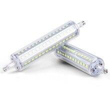 J78 J118 Lampada Led R7S Led Light Bulb 220V Tube Light 110V R7S Led Lamp 78mm 118mm Bulb 5W 10W No Flicker Replace Halogen Lamp стоимость