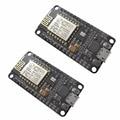 2 Pcs/set High Quality NodeMcu Lua ESP8266 ESP-12E CH340G WIFI Network Development Board Module