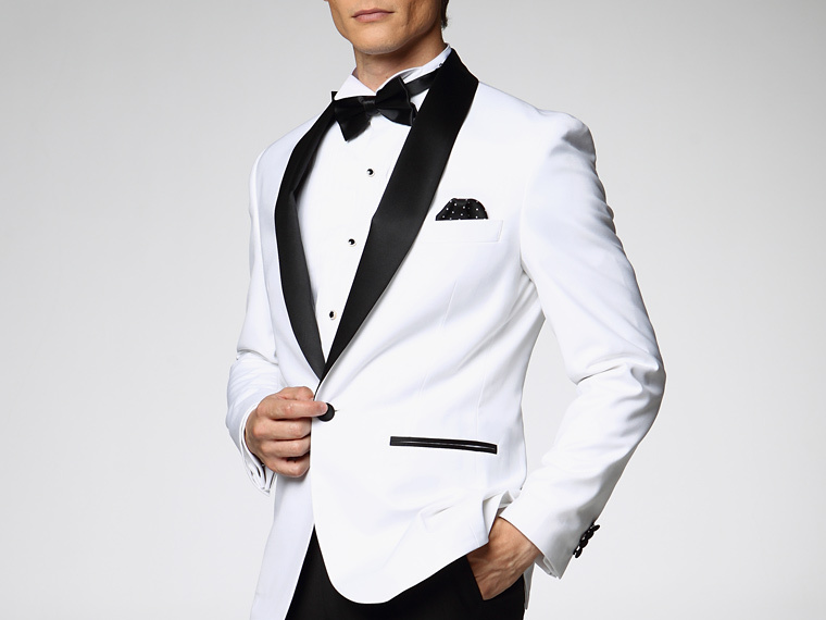Black And White Prom Suit - Ocodea.com