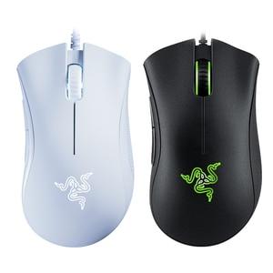 Image 5 - Original Razer DeathAdder Ätherisches Wired Gaming Maus Mäuse 6400DPI Optische Sensor 5 Unabhängig Tasten Für Laptop PC Gamer